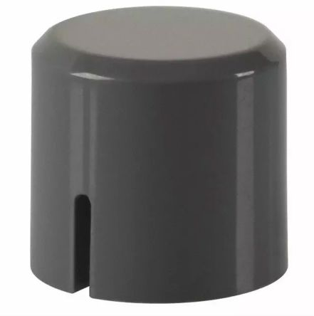 Grey Rotary Switch Cap for use with PN Series Alternate and Momentary Action Pushbutton Switches