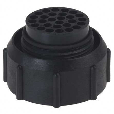 UTP Series, 28 Way Cable Mount MIL Spec Circular Connector Plug, Pin Contacts,Shell Size 20, Bayonet Coupling product photo