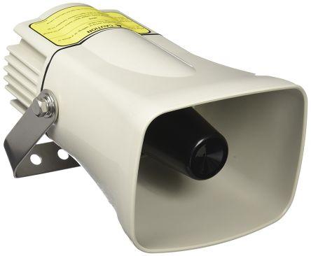 White Siren, 12 -> 24 V dc, 105dB at 1 Metre product photo