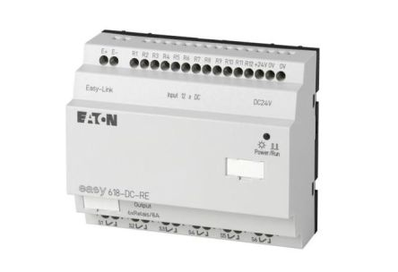 EASY Expansion Module, 24 V dc, 12 x Input, 6 x Output With Display product photo