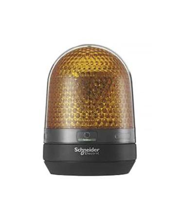 Orange LED Beacon w/ Buzzer, 110-230Vac