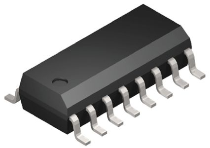 Analog Devices ADUM3224WARZ Dual High and Low Side MOSFET Power Driver, 4A, 3.3 → 5 V, SOIC 16-Pin