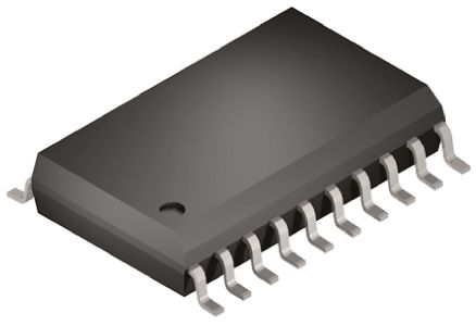 AR1100-I/SO, Resistive Touch Screen Controller, 10 bit SPI 4-Wire, 5-Wire,  8-Wire, 20-Pin SOIC