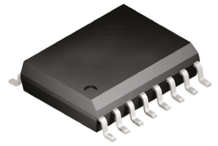 ADM202EARWZ, Line Transceiver, RS-232 2-TX 2-RX, 5 V, 16-Pin SOIC W product photo
