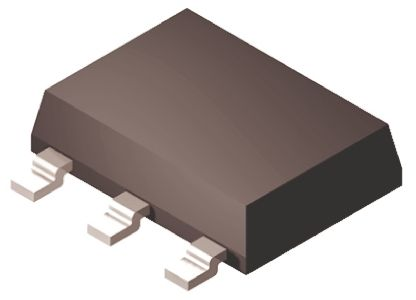 Analog Devices ADP3338AKCZ-2.5RL7, LDO Regulator, 1A, 2.5 V, ±0.8%, 2.7 → 8 Vin 3+Tab-Pin, SOT-223