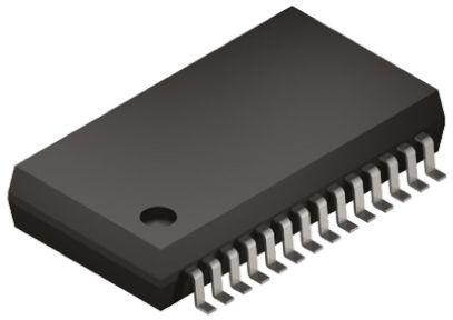 AD1955ARSZ, Audio Converter DAC Dual 24 bit-, 192ksps ±6%FSR Serial (SPI), 28-Pin SSOP