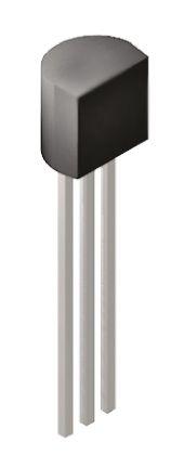 ON Semi BC547BBU NPN Transistor, 100 mA, 45 V, 3-Pin TO-92
