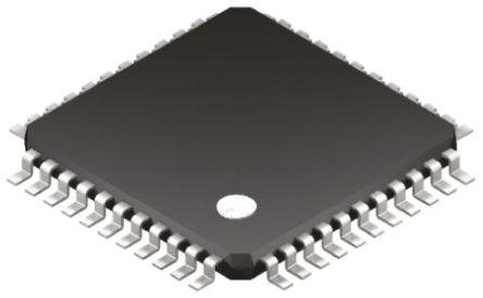 Microchip, 8bit PIC Microcontroller, 40MHz, 32 kB, 256 B Flash, 44-Pin TQFP