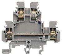ABB Non-Fused Terminal Block, Screw Clamp Terminals, 0.2 → 4 mm², Polyamide