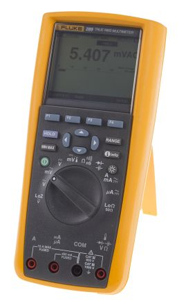 3947801 fluke 289 digital multimeter handheld 10a ac 1000v ac rh za rs online com Fluke 87 Fuse Replacement Fluke 87 4