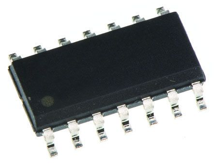 VCA822ID Texas Instruments, Controlled Voltage Amplifier 2.5mV Offset, 86dB CMRR, 14-Pin SOIC