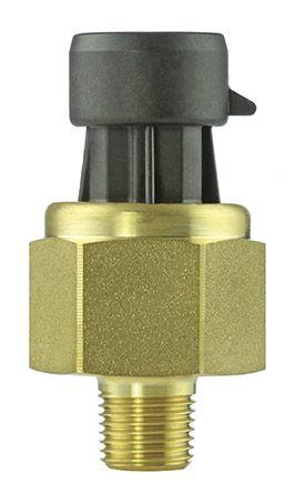 Honeywell Sealed Gauge for Lubricants, Oil, Refrigeration Fluid Pressure  Sensor, 100psi Max Pressure Reading , 5 V dc,