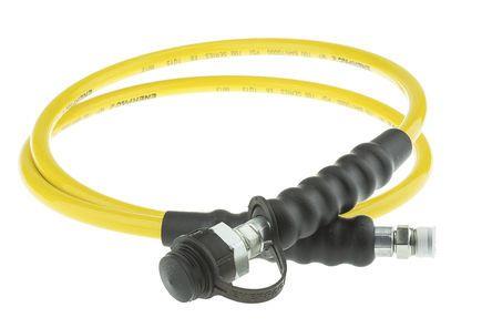 1800mm Hydraulic Hose Assembly, 700 bar Max Pressure, Maximum of +65°C