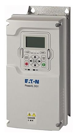 Inverter Drive, 3-Phase In, 0 -> 400Hz Out 1.1 kW, 400 V with EMC Filter, 3.3 A DG1, IP21 product photo