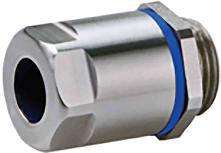 ABB FSCG M25 x 1.5 Cable Gland With Locknut, Stainless Steel