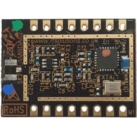 RF Solutions LAMBDA62-8S RF Transceiver Module 868/915 MHz, 1.8 → 3.7V