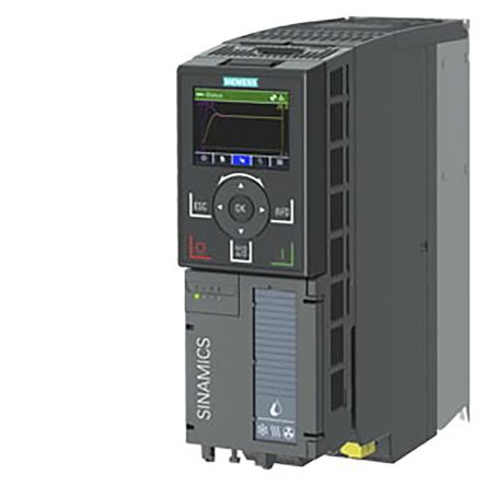 Drive; SINAMICS; G120X; 2HP; 480VAC; 3Ph; BOP Oper Panel; PROFINET/Ethernet IP