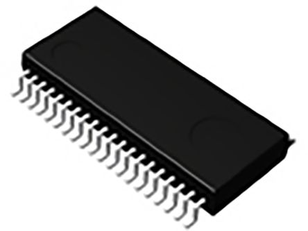 BU97931FV-E2, LCD Driver 112-Segments, 1.8 → 3.6 V, 2.7 → 5.5 (LCD) V, 40-Pin SSOP