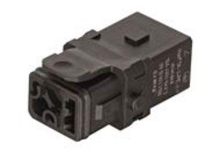 Han 1A-3+PE-C-f shielded latch