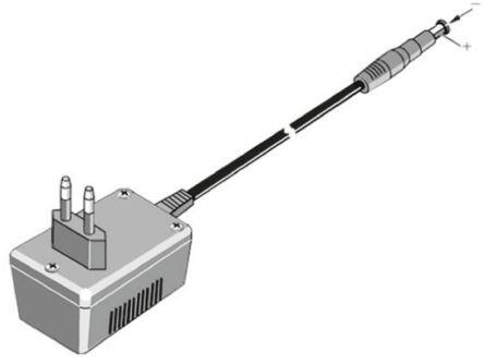 Fluke Mixed Signal Oscilloscope Line Voltage Adapter, Model PM8907