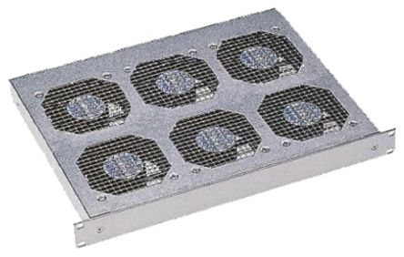 6 Fan Rack Mount Fan Tray, 1U product photo