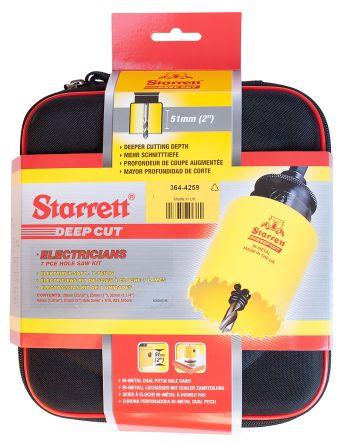 6 piece Bearcat bi-metal holesaw kit