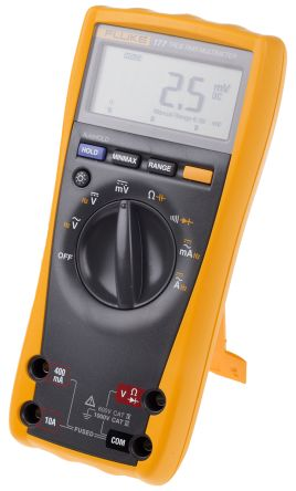 Fluke 177 Handheld Digital Multimeter With RSCAL calibration , 10A ac 1000V  ac 10A dc 1000V dc