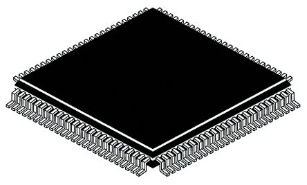 Texas Instruments DS90C387VJD/NOPB, LVDS Transceiver CMOS, TTL Flat Panel Display, 8-Ch, 3 → 3.6 V, 100-Pin, TQFP