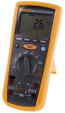 Fluke 1587, Insulation Tester 2GΩ CAT III 1000 V, CAT IV 600 V