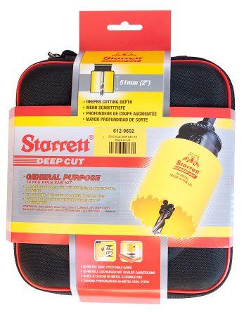 Starrett HSS20 → 73mmHole Saw Set