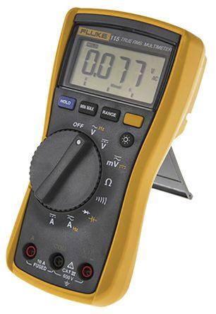 600V 10A Fluke FLUKE-115 40 MOhms Digital Multimeter