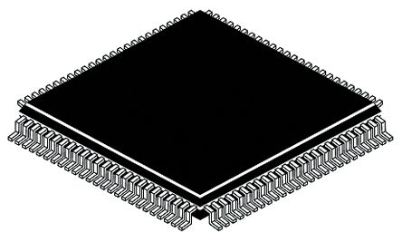Texas Instruments TSB41LV06APZP, Cable Transceiver, 12-TRX 400MBps Differential, 100-Pin HTQFP