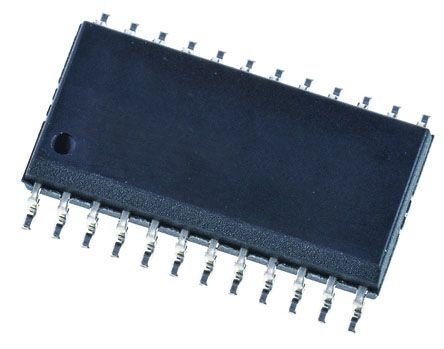 Texas Instruments SN74ABT543ADW, 1 Bus Transceiver, Latched Transceiver, 8-Bit Non-Inverting TTL, 24-Pin SOIC