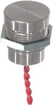 Flying Lead Piezo Switch, , IP68, 200 mA @ 24 V dc, Single Pole Single Throw (SPST), -40 → +75°C