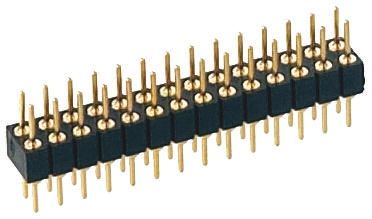 2mm 12 Way 2 Row Straight Through Hole Male PCB Header Pin product photo