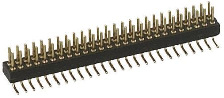 1.27mm 10 Way 2 Row Straight Surface Mount Male PCB Header Pin product photo