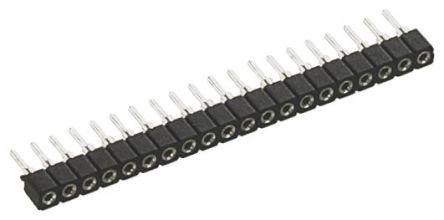 Preci-Dip SIL Soket (Single In Line - Tek Sıra) 5 Pinli 2mm Aralıklı, Karta Monte (Bacaklı Montaj)