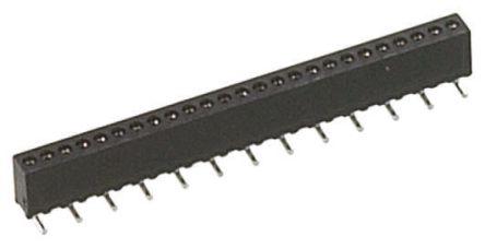 Preci-Dip SIL Soket (Single In Line - Tek Sıra) 4 Pinli 1,27mm Aralıklı SMD Montaj