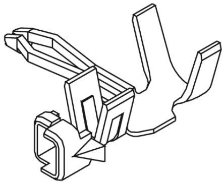 Molex 35021-1001 Контакт обжимного типа