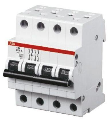 System M Pro S200 MCB Mini Circuit Breaker 4P, 13 A, 6 kA, Curve C