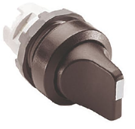 ABB ABB Modular 3 Position Selector Switch Head Short Handle Black Spring Return to Centre