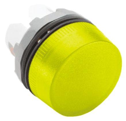 ABB ABB Modular Series, Yellow Pilot Light Head, 22mm Cutout