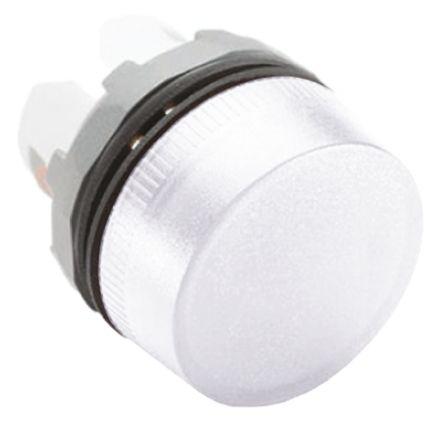 ABB ABB Modular Series, White Pilot Light Head, 22mm Cutout