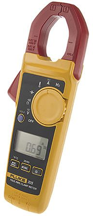 325 Clamp Meter, Max Current 400A ac, 400A dc CAT III 600V, CAT IV 300V With RS Calibration product photo