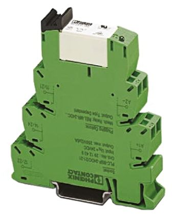 SPDT DIN Rail Interface Relay Module Cage Clamp