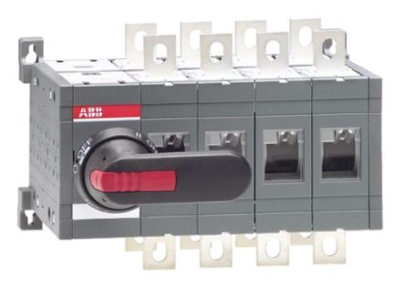 4 Pole DIN Non-Fused Switch Disconnector, 4NO, 400 A