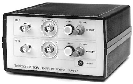 Tektronix Oscilloscope Battery Power Supply 1103, For Use With ADA400A, P5205, P5210, P6205, P6243, P6245, P6246,