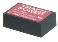 TRACOPOWER THM 10WI 10W Isolated DC-DC Converter Through Hole, Voltage in 18 → 75 V dc, Voltage out 24V dc