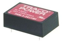 TRACOPOWER THM 3WI 3W Isolated DC-DC Converter Through Hole, Voltage in 4.5 → 9 V dc, Voltage out 5V dc Medical