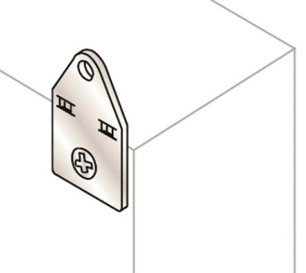 Mounting Bracket for use with SRX Enclosure